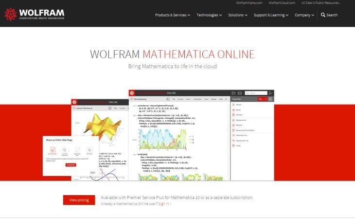 MathematicaOnline