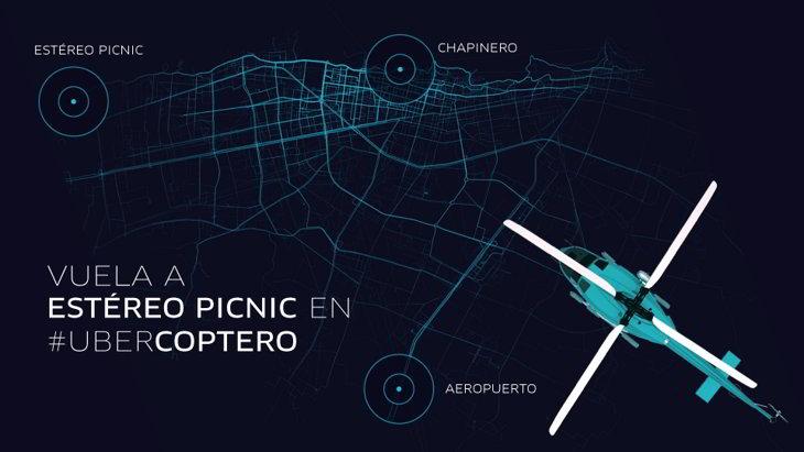 UberCoptero bogota