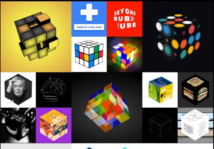 Cubos de Rubik en chrome.com/cubelab