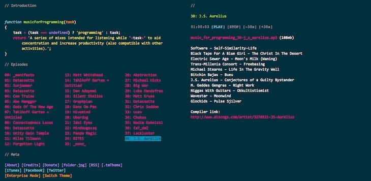 musicForProgramming();