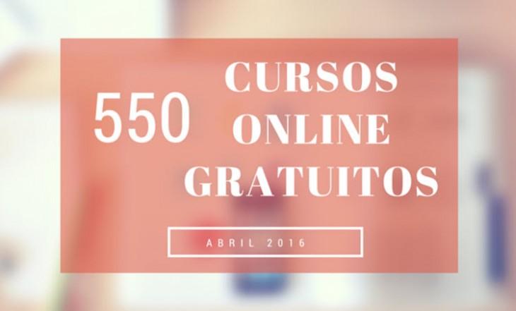 550 cursos universitarios, online y gratuitos que inician en abril