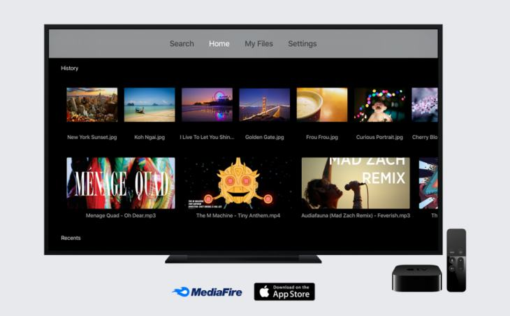 MediaFireTVAppleTV