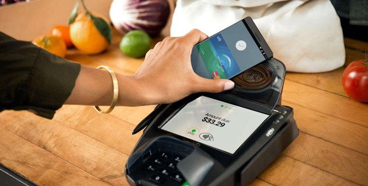 android pay pagos tiendas