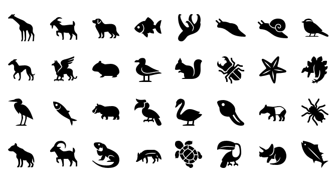 Iconos De Animales Para iPhone