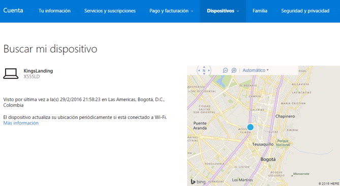 mapa windows 10