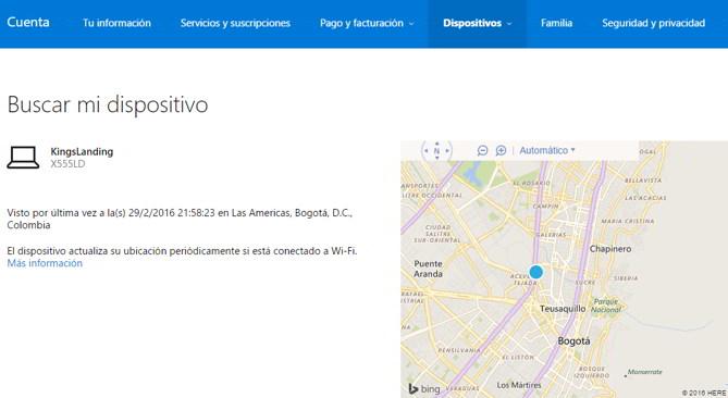 mapa windows 10