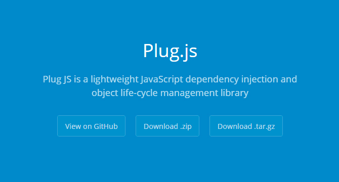 Plug.js: Libreria De Manejo De Dependencias Y Objetos JavaScript
