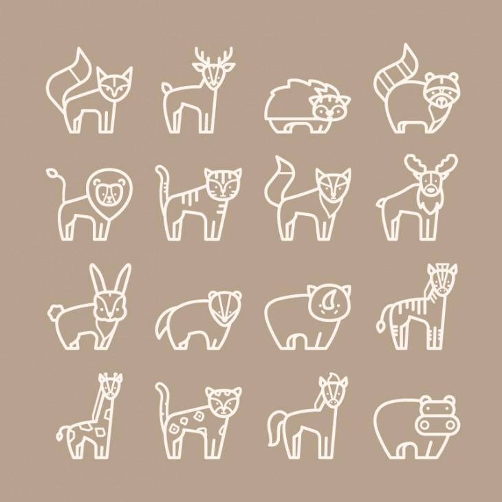 8. Forest Animals