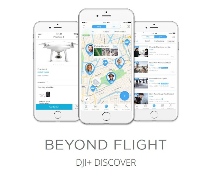 Dubbed DJI+ Discover