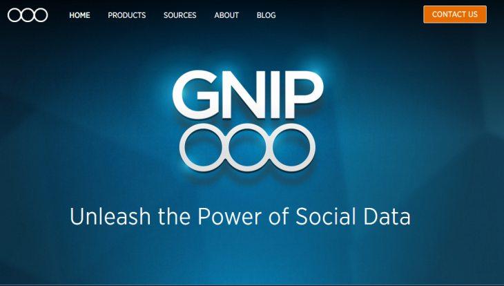 Twitter anuncia la disponibilidad en fase pública de Gnip 2.0