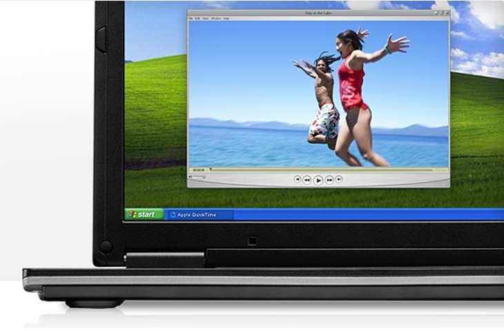 Imagen: Sección de QuickTime 7 en Apple.com
