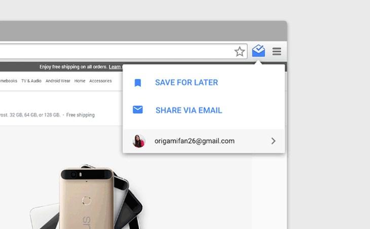 Imagen: Una de las nuevas características de Inbox