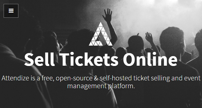 Attendize: Plataforma De Administración De Eventos