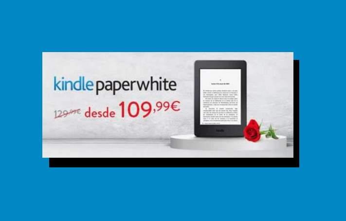 Kindle con precio especial por el día del libro