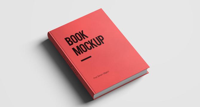 Mockup Editable De Un Libro