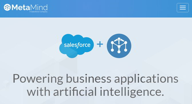 salesforce metamind