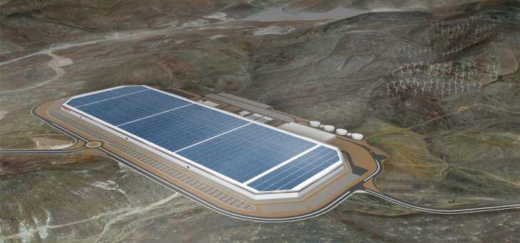 Imagen: Gigafactory 1 de Tesla