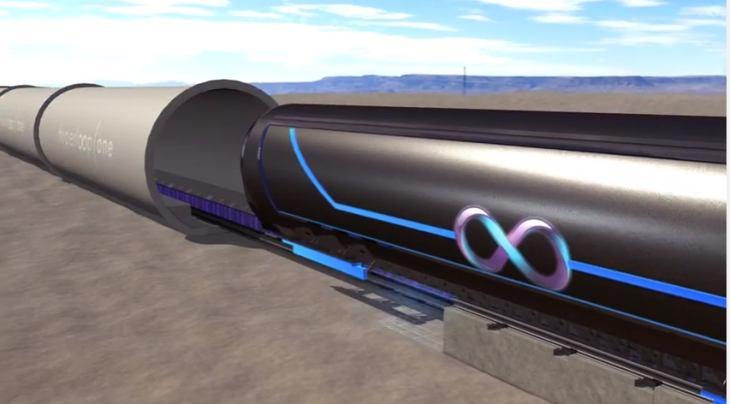Imagen: Vídeo de la Infografía de Hyperloop One