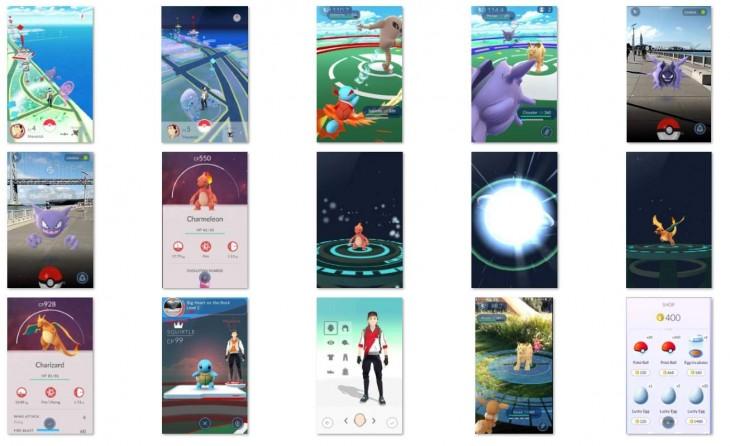 Capturas de la app