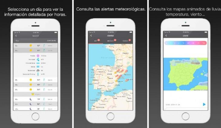 official photos 8e325 03409 El Tiempo 14 días, la app oficial de tiempo.com, gratuita en iOS ...