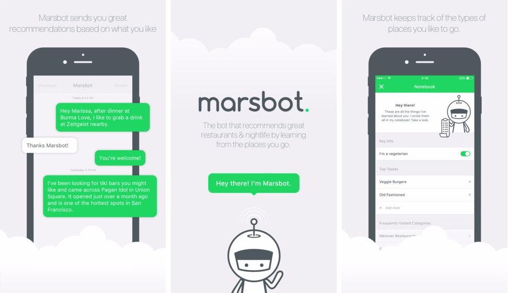 marsbot foursquare