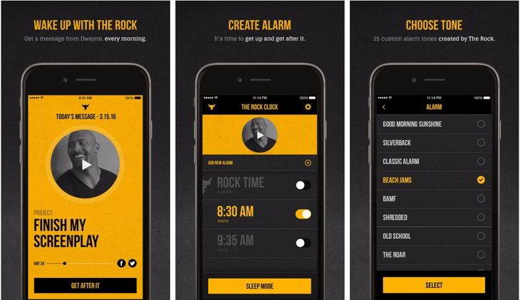 the rock alarma
