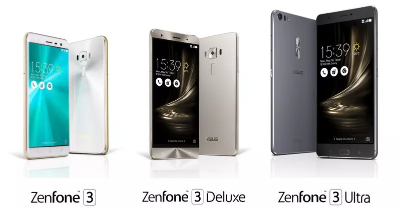 versiones asus zenphone