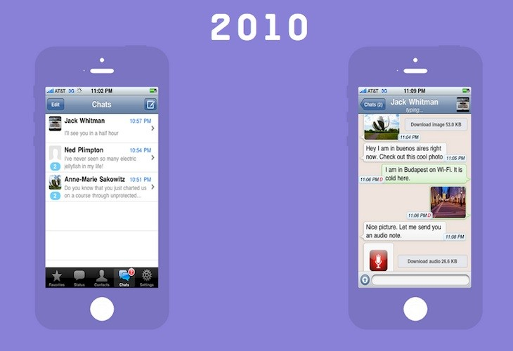 Great Apps Timeline