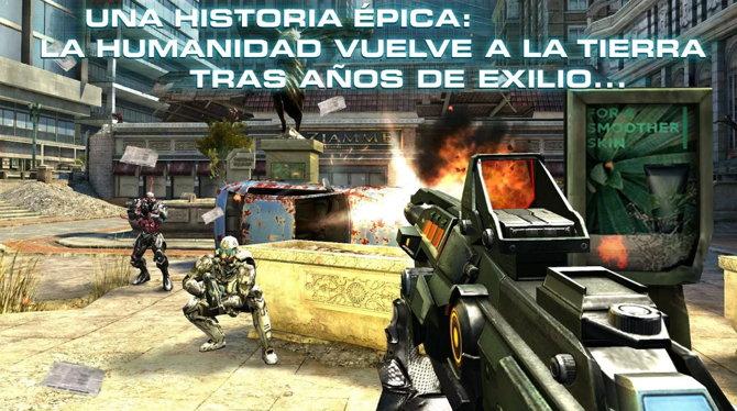 5 De Los Mejores Juegos De Disparos Multijugador Para Android
