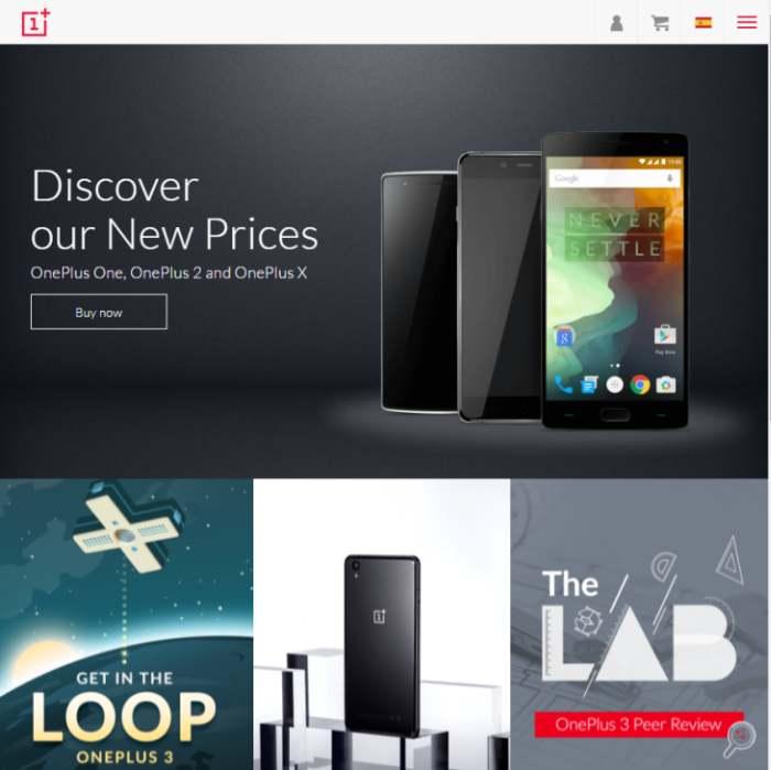 Imagen: sitio web de OnePlus