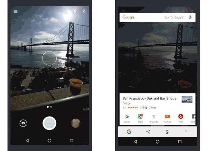 Google añade reconocimiento de imágenes en su Now on Tap