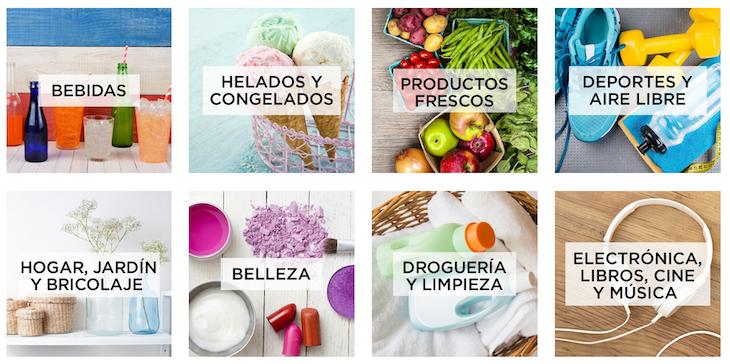 amazon españa productos frescos