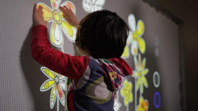 Una nueva tecnología que ayuda a la estimulación sensorial en niños con autismo