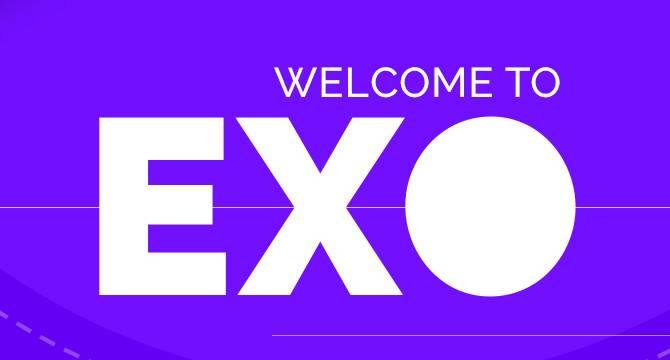 EXO: Plantilla PSD De Sitio Web De Página Simple