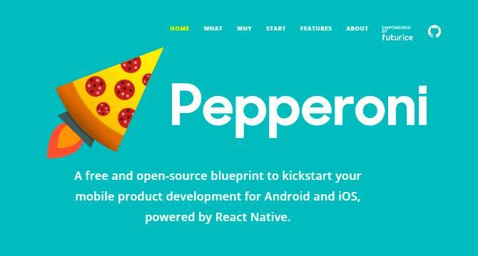 Pepperoni: Plantilla De Aplicaciones React Para Android Y iOS