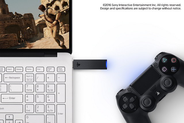 DualShock 4 adaptor windows mac