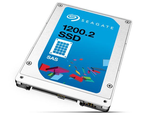Imagen: Un ejemplo de SSD de Seagate™ libre actualmente en el mercado