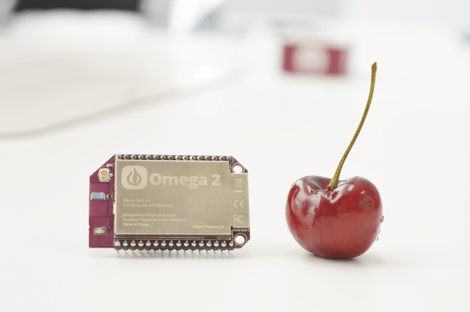 omega2 computador miniatura