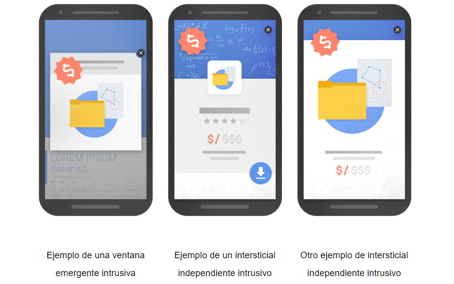 penalizacion google intersticial