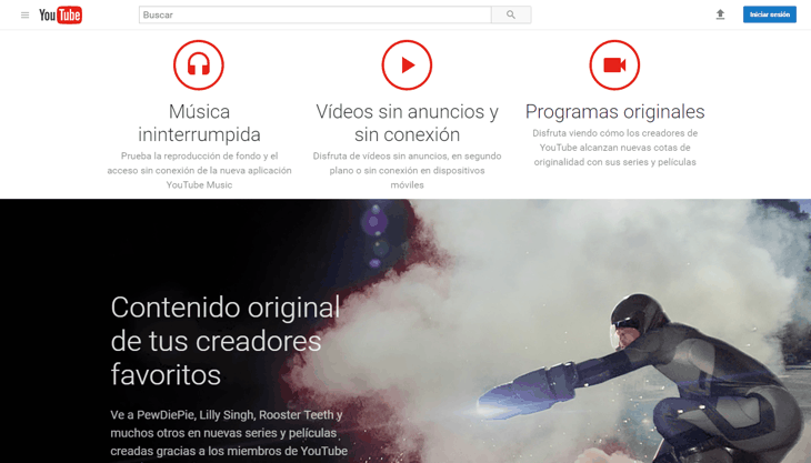 youtube red mexico