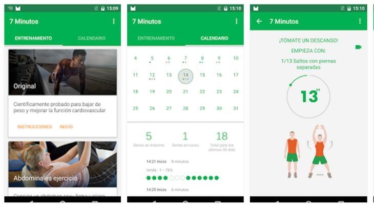 Imagen: App Entrenamiento de 7 Minutos