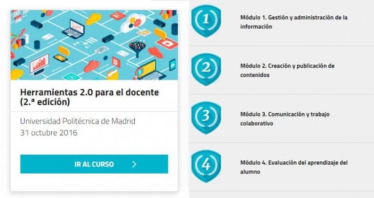 Nuevo curso online gratuito sobre competencias digitales para docentes