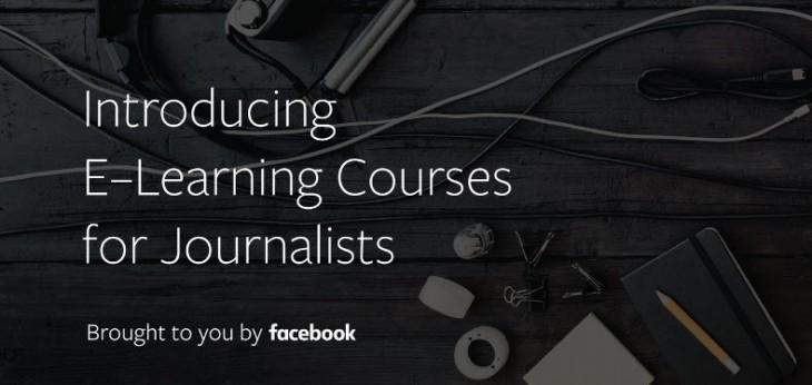 Facebook lanza cursos online y gratuitos para periodistas