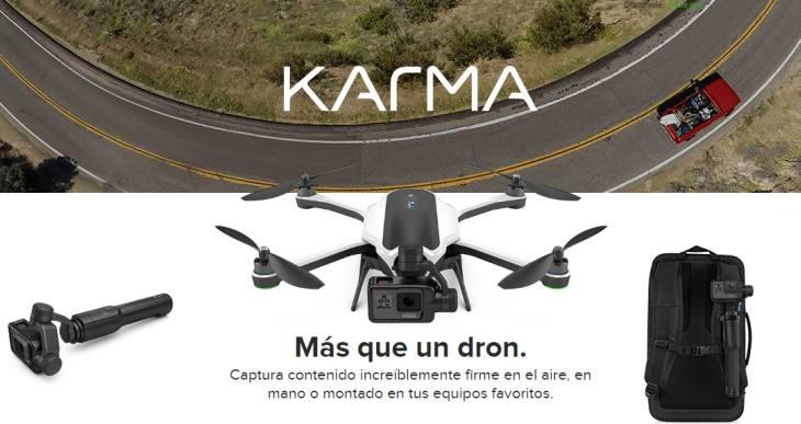 GoPro retira su dron Karma