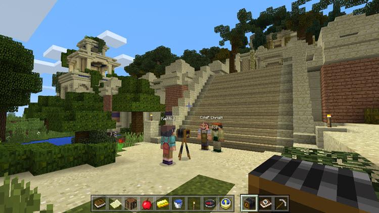 Ya está disponible la versión completa de Minecraft Education Edition