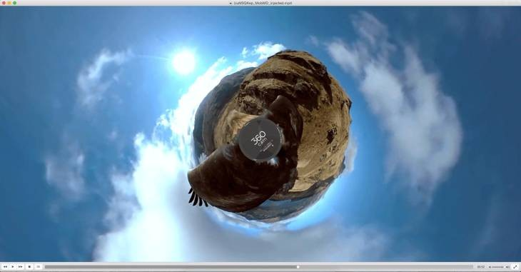 Imagen: Captura oficial de VLC 360 en Mac