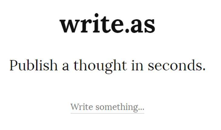 writeas
