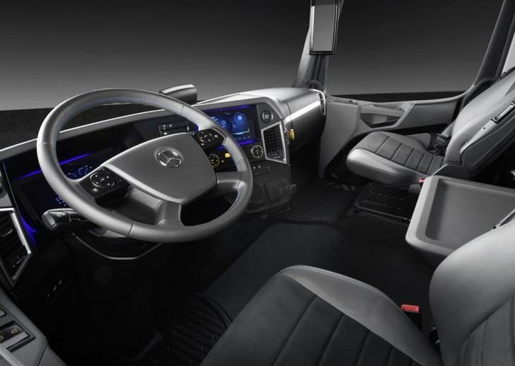Interior del vehículo. Foto: Daimler