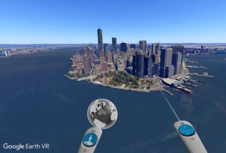 La realidad virtual llega a Google Earth