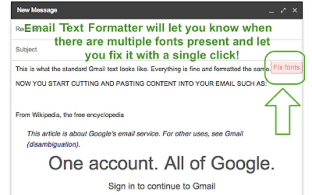 email-text-formatter